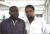 Kofi Awoonor and Kofi Anyidoho at African Literature Association Conference, Gainseville, FL, 1979