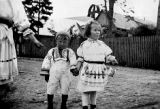 Children in costume, Slovakia (Slovak Republic) (former Czechoslovakia), circa 1930-1937