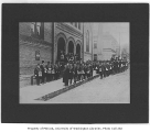 Funeral of Daniel Bagley at the First Presbyterian Church, Seattle, 1905