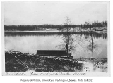 Green Lake from Woodland Park, Seattle, December 1, 1891