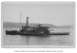 Sidewheel steamer GOLIAH at sea, probably near Seattle, n.d.