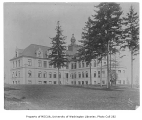 Administration Building exterior showing north sides of building, University of Washington,...
