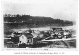 Western Mill at the south end of Lake Union, looking northwest, Seattle, ca. 1888