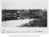 Sawmill on site of Green Lake fieldhouse, Seattle, 1890