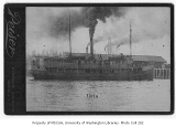 Steamer EDITH in a harbor near Seattle, n.d.