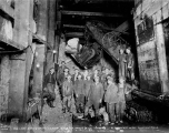 Last swing shift in the Cascade Tunnel, December 7, 1928