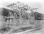 Great Northern Railway substation at Winton, March 6, 1929