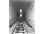 First work train through the Cascade Tunnel, ca. 1929