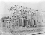 Great Northern Railway substation, Leavenworth, March 15, 1929