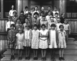 Fifth and sixth grade school children, Skykomish School, 1929