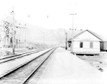 Great Northern Railway train station, Leavenworth, ca. 1929
