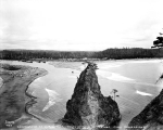 Mouth of the Quillayute River at La Push, ca. 1930