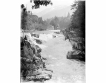 Eagle Falls on the Skykomish River near Index, ca. 1929