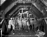 Cement swing shift crew that finished the Cascade Tunnel, December 24, 1928