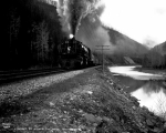 Freight train  at Silver Tip, Montana, ca. 1930