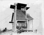 Benchmark Mountain forest fire lookout, ca. 1930