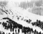 Third annual ski tournament, Leavenworth, January 25, 1931