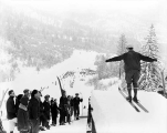 Ski jump at Leavenworth, January 11, 1930