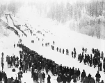 Ski competition at Leavenworth, 1930
