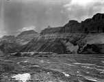 Garden Wall  from Logan Pass, Montana, ca. 1932
