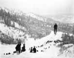 Ski jumping at Leavenworth, ca. 1931