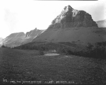 Continental divide at Logan Pass, Glacier National Park, Montana, ca. 1932