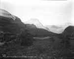 Lake St. Mary's from Logan Pass, Glacier National Park, ca. 1931
