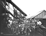 Crew at the Sunset Copper Co. mine, Index, November 7, 1929