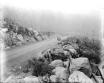 Highway construction site, near No Name Bridge, ca. 1933