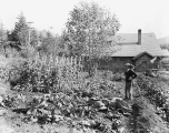 Garden in the town of Grotto, ca. 1929