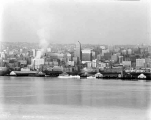 Central business district waterfront, Seattle, ca. 1930