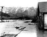 Main St. during the flood of February 26, 1932, Index, Wash.
