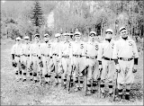 Baseball team group portrait, Skykomish, 1913
