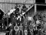 Index Galena Co. lumber mill workers, Index, ca. 1913