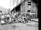 Index Galena Co. camp and workers, 1916
