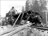 Great Northern Railroad train wreck, September 25, 1912