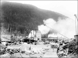 Index Galena Co. lumber mill, Index, ca. 1913
