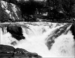 Canyon Falls on the Skykomish River, 1910