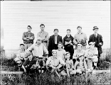 Baseball team group portrait, Snohomish County, ca. 1910