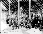 Group portrait of Baring Granite Quarry workers, ca. 1912