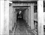 Interior section of Pioneer Tunnel, west portal, ca. 1926