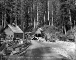 Cascade Tunnel at the west portal, Scenic, June 15, 1926