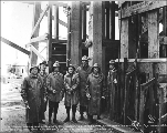 A. Guthrie and Co. bosses at Mill Creek shaft, ca. 1926