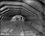 Inside the Chumstick tunnel, ca. 1927
