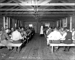 Workers at the mess hall at Camp 2, ca. 1927