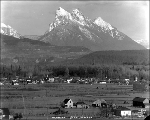 Panorama of Startup with Mt. Baring in the background, 1928
