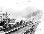 Great Northern Railway tracks west of Scenic, ca. 1928