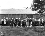 Crew at camp 2, Chumstick cutoff,  August 12, 1927