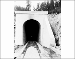 East portal, Chumstick Tunnel at camp 11,  August 27, 1928