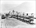 Great Northern Railway yards at Leavenworth, July 22, 1927